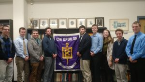 2017 Chi Epsilon New Officers